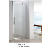 Buy cheap Framed Hinged Glass Shower Door / Hinged Shower Screen For Hotel Bathroom product