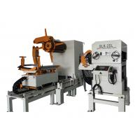 Sheet Metal Straightener Uncoiler Feeder With 0.5Mpa Pneumatic Pressure