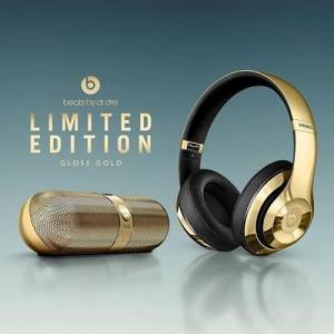 China NEW Beats by Dr. Dre Pill 2.0 Speaker Beats Studio Wireless Headphones GOLD on sale