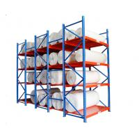 Buy cheap Cold Rolled Steel Warehouse Storage Shelves For Fabric / Cloth Adjustable Layer product