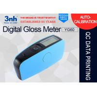 China YG60 Accurate Digital Gloss Meter USB Interface For Protective / Marine Coatings on sale