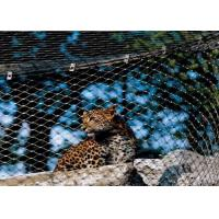 Buy cheap High Durability Animal Enclosure Mesh Lightweight With Woven Type / Ferrule Type product