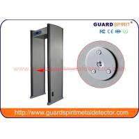 Buy cheap Multi Zones Security Door Frame Metal Detector , Walk Thru Metal Detectors product