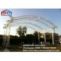 Buy cheap Customized 300mm Aluminum Arch Spigot Truss For Structure , Exhibition Truss from wholesalers