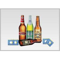 Beer Label Vacuum Metallized Paper Laminate Sheets Chemical Type , Width 200mm-2000mm