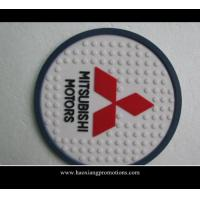 Buy cheap Custom Logo Low MOQ Round Shape Promotional Gift Cork Coaster Single Packed with your logo product