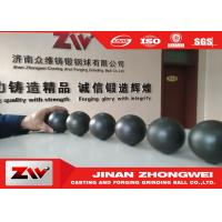 Buy cheap Cast iron and forged Grinding Steel balls , Dia 20-140mm grinding media ball product