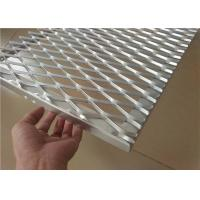 Buy cheap Expanded Aluminum Wire Mesh , Metal Wire Mesh For Building Wall Materials product