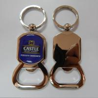 Buy cheap Epoxy dome designer metal bottle opener, zinc alloy die casting bottle opener epoxy dome, from wholesalers