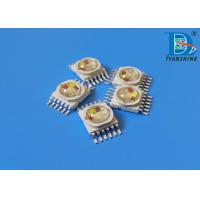 Buy cheap RGBWA UV High Power LED Diode 10W LEDs 6IN1 Multicolor LEDs Chip product