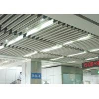 Buy cheap Fashion Aluminium Baffle Ceiling J shaped Plug-in Blade Ceiling  for Airport, Metro product