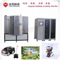Buy cheap DC and MF Magnetron Sputtering Coating Machine, Deep Black  PVD Coating Solutions product
