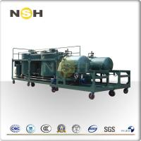 Buy cheap Easy Operating Waste Oil Recycling Machine With -0.09 Mpa Working Pressure product