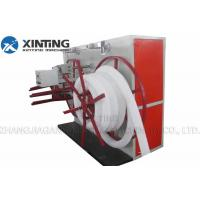 Buy cheap Automatic Wire Corrugated Pipe Production Line , Hdpe Pipe Winding Machine product