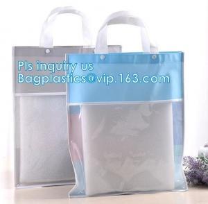 Buy cheap waterproof PVC plastic shopping bag, eco friendly washable plastic PVC shopping bag, Durable Women Shopping shiny pvc to product