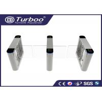 Buy cheap RFID Card Reader Swing Barrier Gate / Access Control Barriers And Gates product