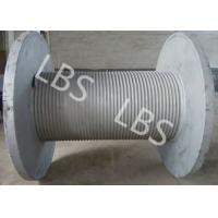 Buy cheap Fast Speed Smooth Drum Winch Wire Rope Winch Drum 10 Ton 20 Ton product