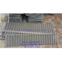 Buy cheap Wedge Wire Grating/ Johnson type Screen plate / dewatering screen panel / v wire flat panel / support grids product