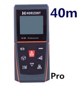 China 40 m laser distance meter laser rangefinder range finder tape measure tool instrument measurement area volume N-pro40 on sale