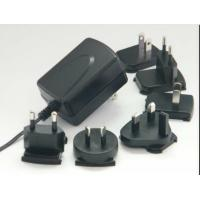 Buy cheap Interchangeable Plug Wall Mount Power Adapter With 15W / 18W / 24W AC product