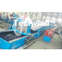 Buy cheap 15KW Hydraulic Power Highway Guardrail  Roll Forming Machine product