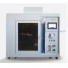 Buy cheap Foam Horizontal Vertical Burning Tester , Plastic Textile Foam Performance from wholesalers