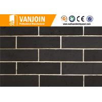 breathability durability black wall tiles exterior wall decorative