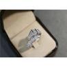 Buy cheap Bvlgari / Bulgari Serpenti Ring 18k White Gold with Diamonds from wholesalers