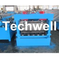 Buy cheap 1250mm Material Width, Steel Metal Corrugated Panel Forming Machine With Punching product