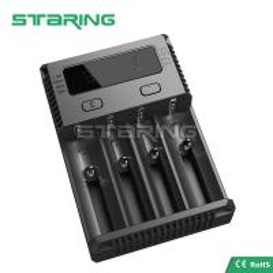 Buy cheap NEW NITECORE i4 Charger Battery for AA AAA 18650 14500 16340 26650 Li-ion Ni-MH product