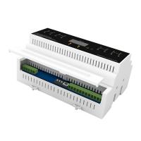Buy cheap 4 Channels DIN FLV4 Lighting Control Module With DC NET Communication product
