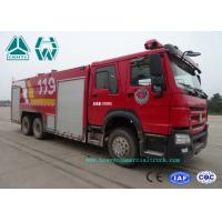 Buy cheap Howo 266 Hp Emergency Rescue Fire Fighting Truck  6 X 4 With High Pressure Pump product
