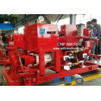 Buy cheap 500GPM / 200PSI Diesel Engine Driven Fire Pump With Air / Water Cooling product