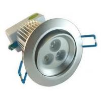 China 3W 30º High Lumen Led Downlight Fitting replacement, Aluminum led Ceiling Spot lamp haloge on sale