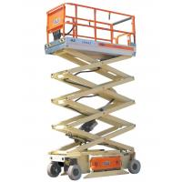 Buy cheap Mobile hydraulic Double scissor electric lift platform 800kg 1000kg for hotel product