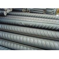 Buy cheap ASTM Building Iron Deformed Steel Bars Rods , Construction 8MM Steel Rebar product