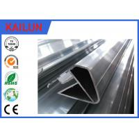 Buy cheap Oval Hollow Shape 6063 Aluminum Extrusion Profiles for Rail Coach Handrail Enclosure product