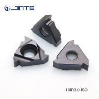 Buy cheap 16ER 1.5ISO Standard Thread Cutting Inserts , Buttress Thread Inserts AT500 Grade product