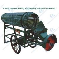 Buy cheap 4ton/h cassava peeler and chipper(Model:SQPC-4) product