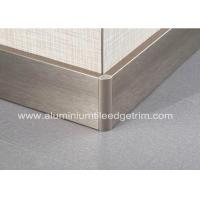 Buy cheap Titanium Gold Aluminium Skirting Boards Perth / Bunnings For Wall Edge Protection product