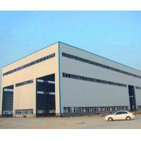 Buy cheap GB Hot Rolled Steel Prefabricated Steel Structure Metal Storage Shed product
