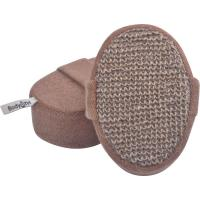 Buy cheap Eco - Friendly Hemp Oval Bath Body Scrubber Pad No Stimulation With Elastic Belt product