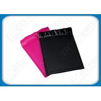 China 6 × 9 Waterproof Black Poly Bubble Mailers With Strong Adhesive Plastic Mailing Bags on sale