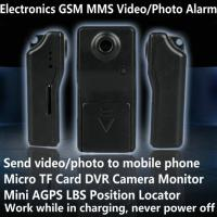 Buy cheap Electronic GSM MMS Alarm Micro TF DVR Camera Locator W/ Send Video Photo to Mobile Phone product