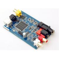 Buy cheap Router Printed Circuit Board Assembly FR-4 Blue Soldmask Pcb Control Board product