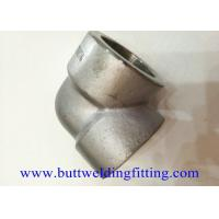 Buy cheap Forged Stainless Steel 2'' 90 Degree Socket Weld Elbow 3000#  A 182 F316 from wholesalers
