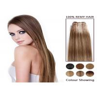 Piano Long 100 Remy Colored Human Hair Extensions Soft Straight Human Hair Bundles