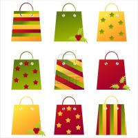 Quality simple design reusable nylon shopping bag for sale