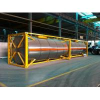 Buy cheap 40 Feet Chemical Liquid Tank Container 48000L ISO Stainless steel product