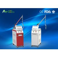 China Q - Switched Nd Yag Laser Tattoo Removal Machines Easy Operation 1064nm 532nm wholesale